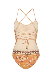 Spell  Buttercup One Piece - Back cropped