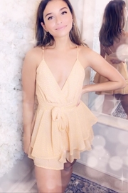 Rumor Buttercup Playsuit - Front cropped