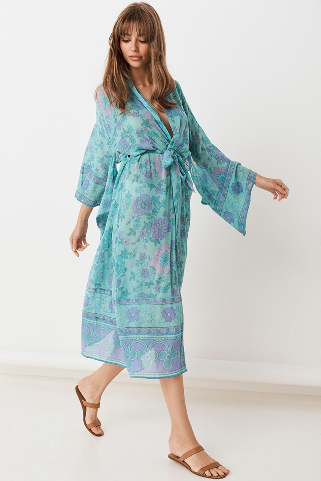 Spell  Buttercup Robe - Side Cropped Image