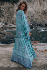 Spell  Buttercup Robe - Front cropped