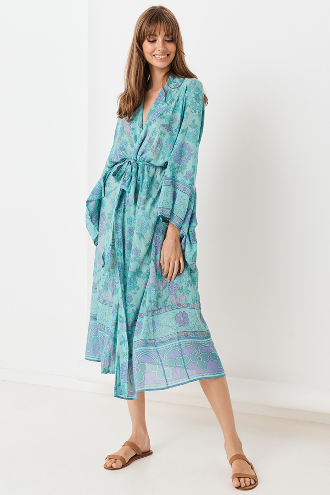 Spell  Buttercup Robe - Front Full Image