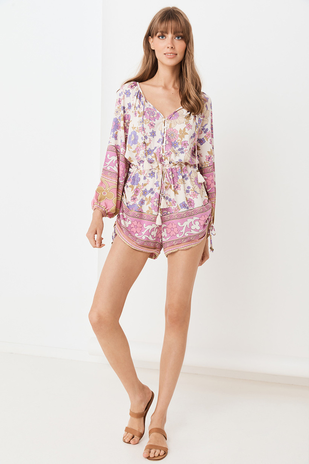 Spell  Buttercup Romper - Front Full Image