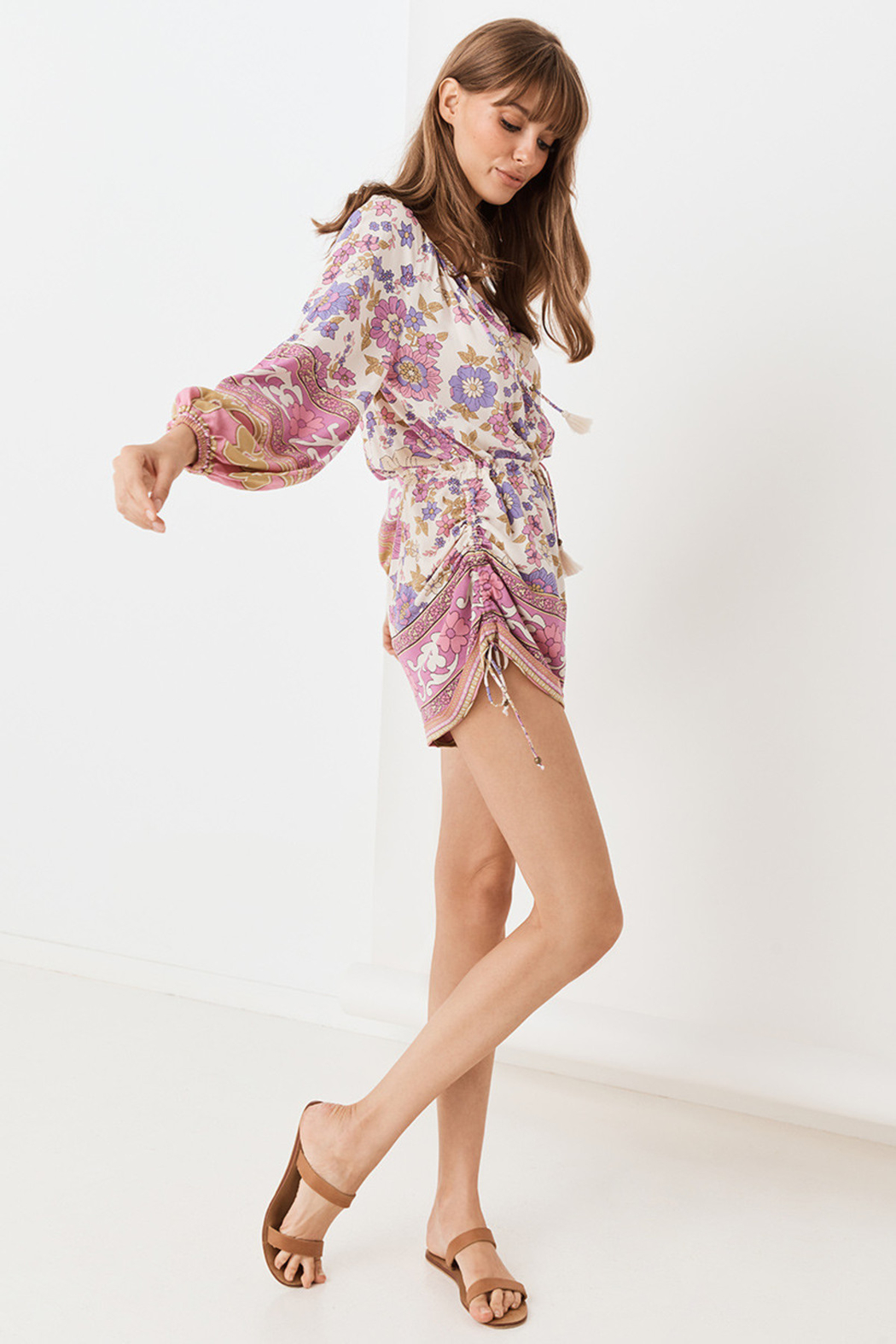 Spell  Buttercup Romper - Side Cropped Image