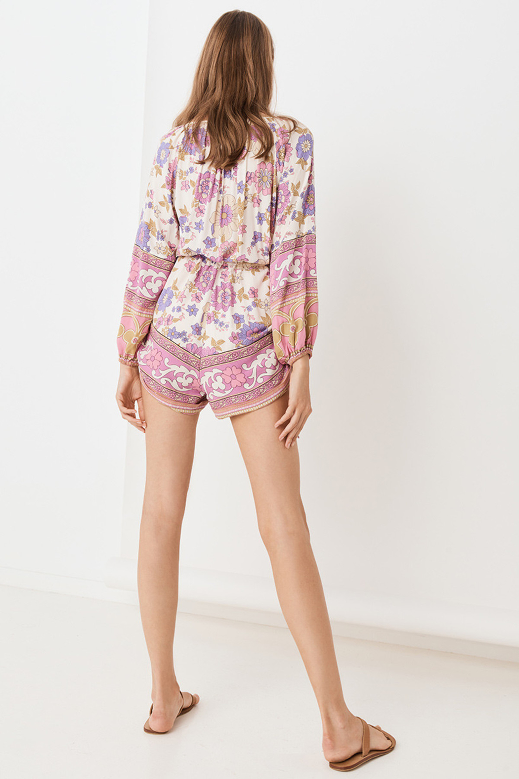 Spell  Buttercup Romper - Back Cropped Image