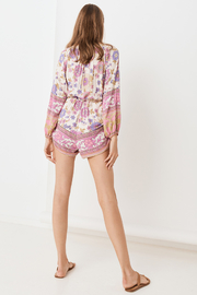 Spell  Buttercup Romper - Back cropped