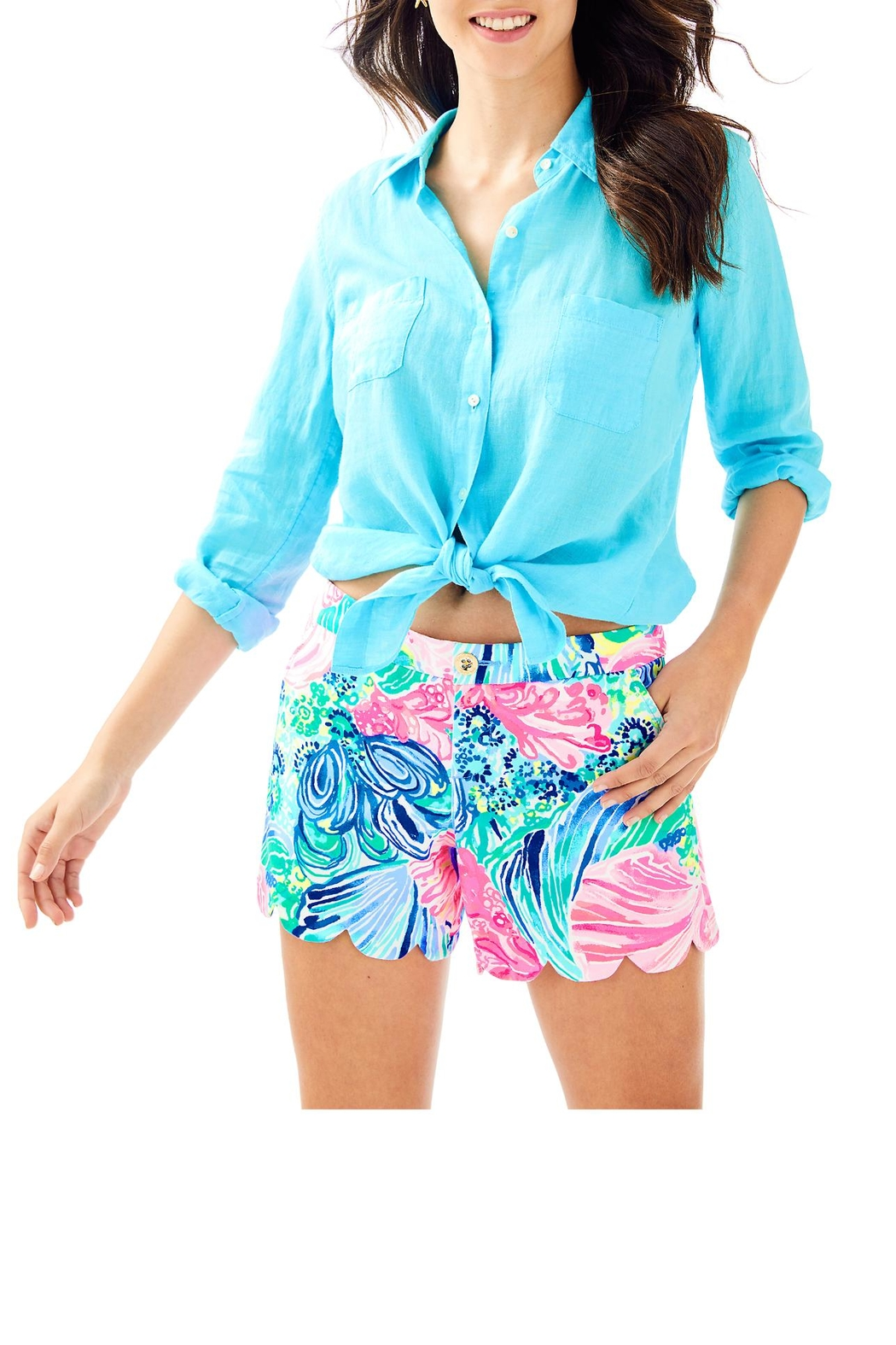 Lilly Pulitzer Buttercup Short - Main Image