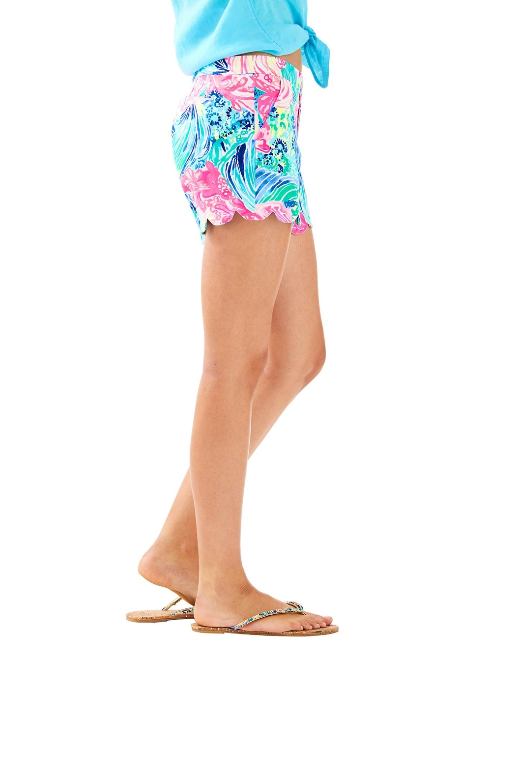 Lilly Pulitzer Buttercup Short - Side Cropped Image