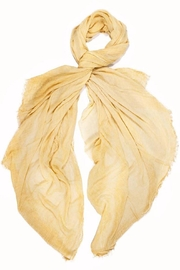 TIGERLILY Buttercup Yellow Scarf - Front cropped