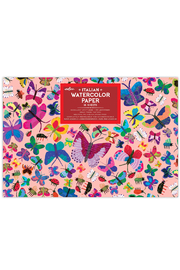 Eeboo Butterflies Watercolor Pad - Product Mini Image