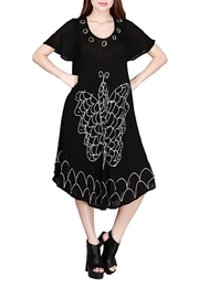 India Boutique Butterfly Black Dress - Product Mini Image