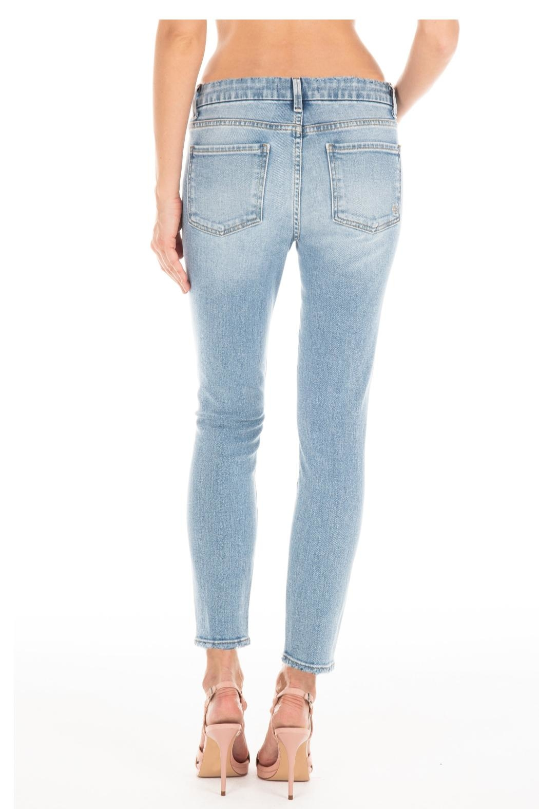 Fidelity Denim Butterfly Blue Denim - Front Full Image