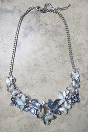 Sophia BUTTERFLY CHOKER METAL NECKLACE - Product Mini Image