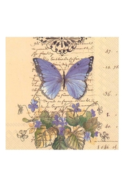 Boston International Butterfly Cocktail Napkin - Product Mini Image