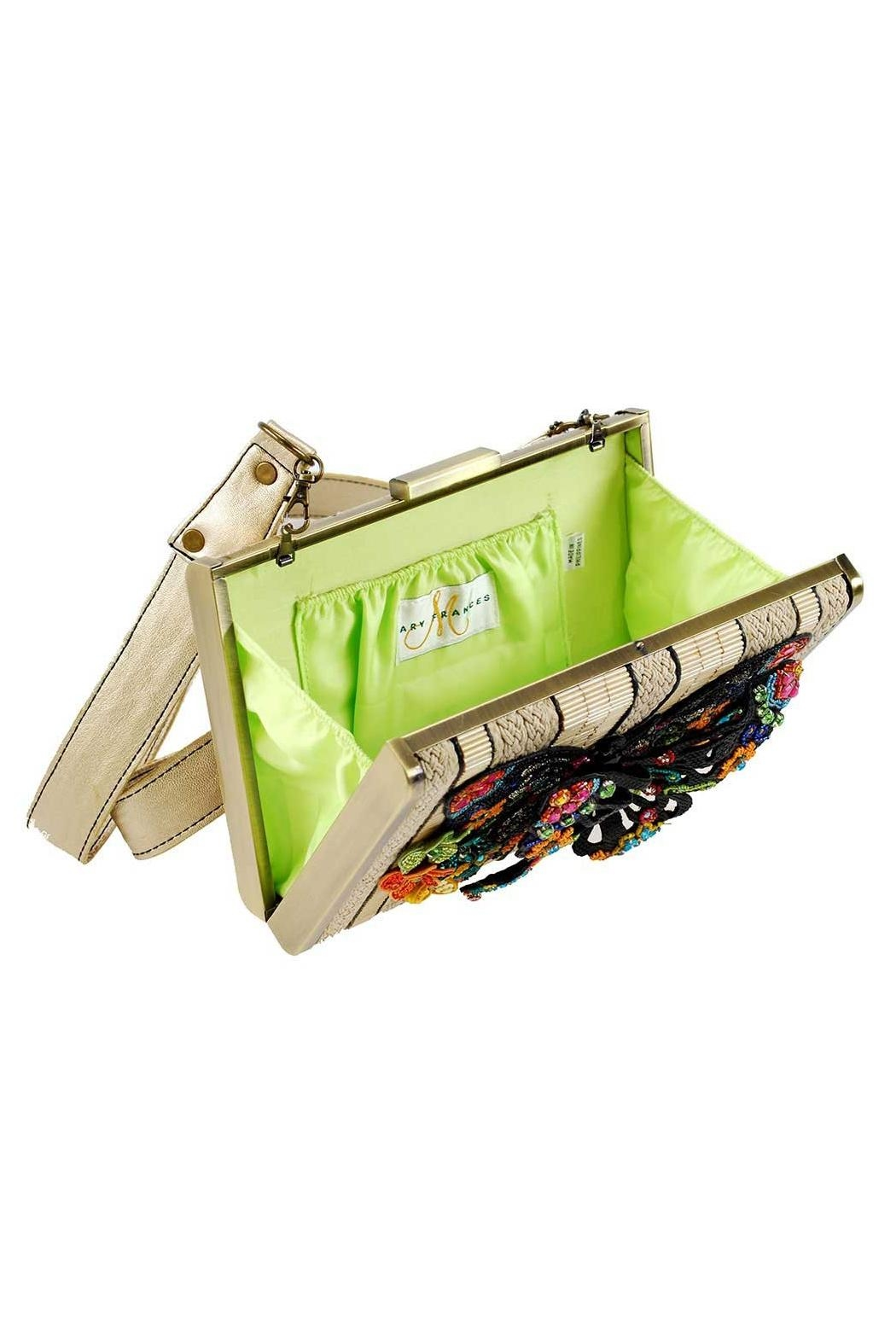 Mary Frances Butterfly Fantasy Handbag - Side Cropped Image
