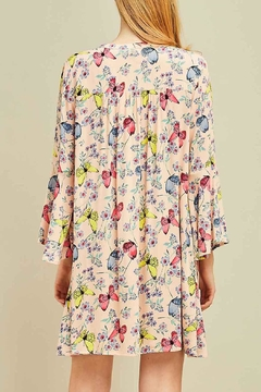 Entro Butterfly Floral Dress - Alternate List Image