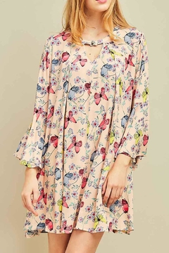 Entro Butterfly Floral Dress - Product List Image