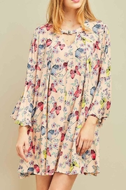 Entro Butterfly Floral Dress - Product Mini Image