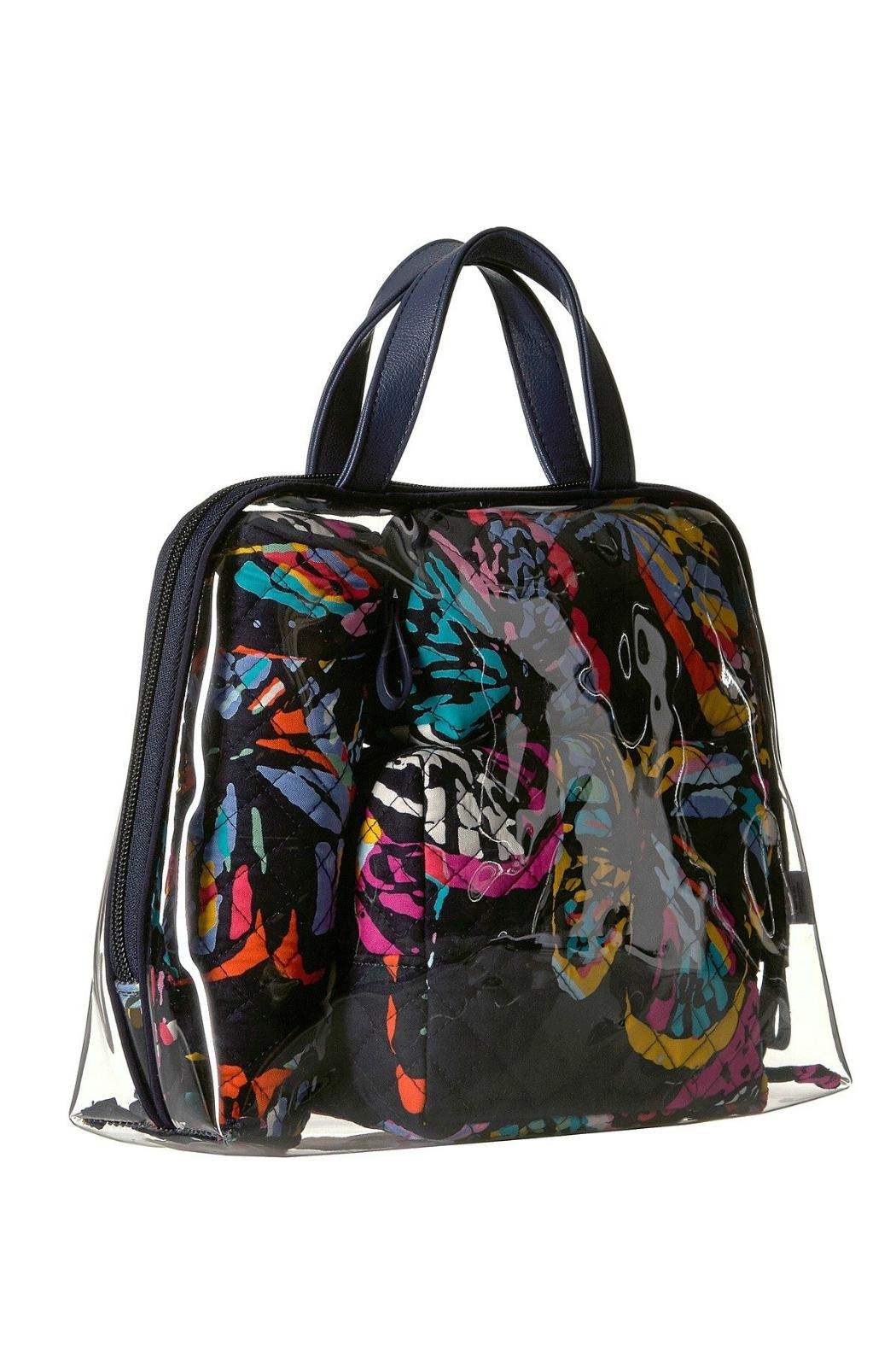 Vera Bradley Butterfly Flutter 4pc-Cosmetic - Front Full Image