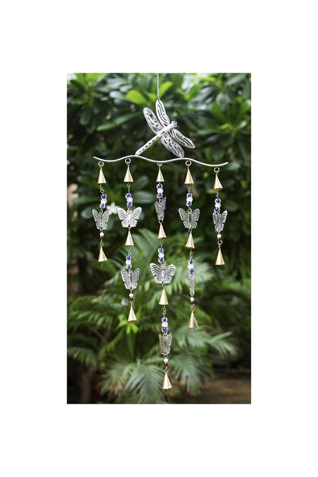 Evergreen Enterprises Butterfly Garden Bells - Front Full Image