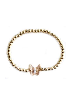 Shoptiques Product: Butterfly Golden Bracelet