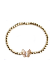 Malia Jewelry Butterfly Golden Bracelet - Front cropped