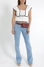 Cattiva Girl Butterfly Knit Crop-Top - Product Mini Image