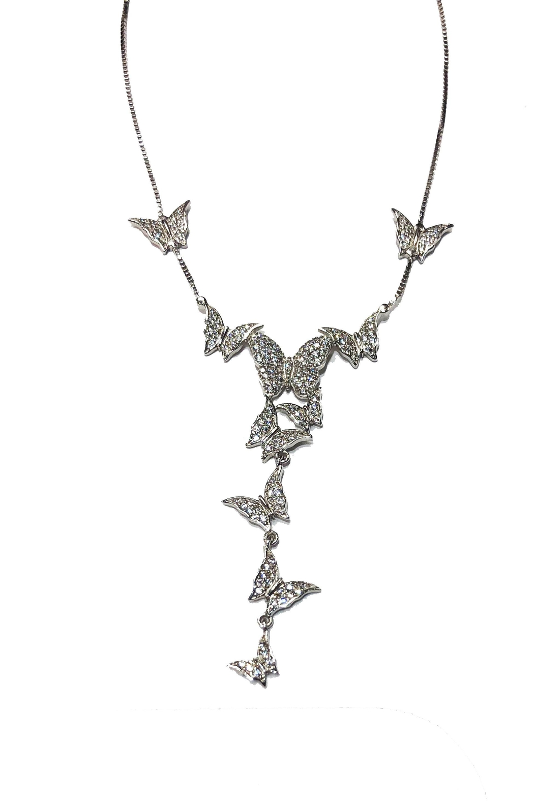 Lets Accessorize Butterfly Lariat - Main Image