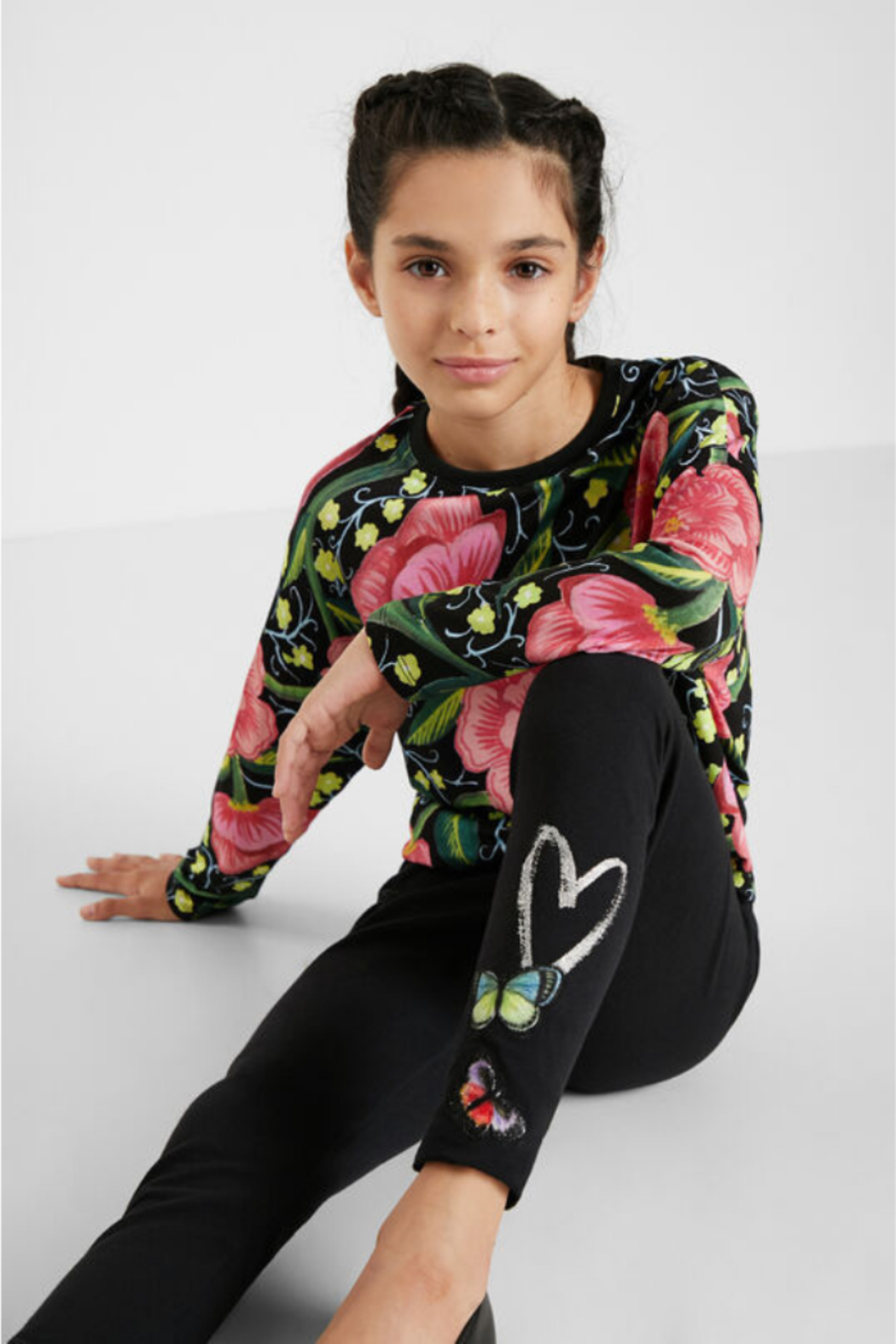 Desigual  Butterfly Leggings - Back Cropped Image