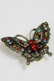 Dominique Butterfly Magnetic Broach - Product Mini Image