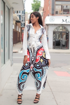 Shoptiques Product: Butterfly Maxi Dress