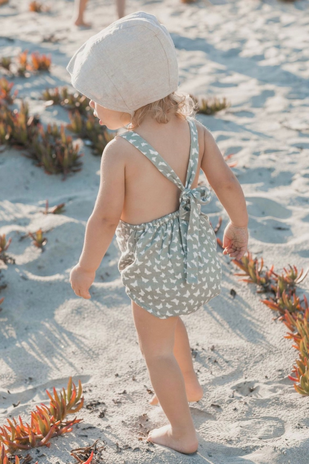 Rylee & Cru Butterfly Norah Romper - Front Cropped Image
