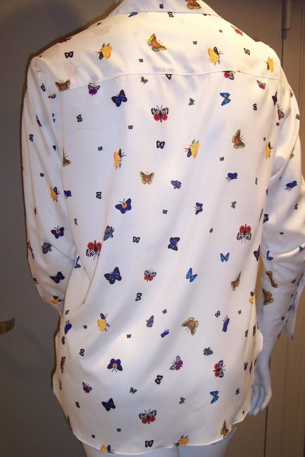 Vipavadee Butterfly Print Blouse - Front Full Image