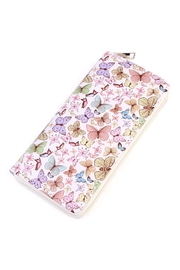 Riah Fashion Butterfly Print Wallet - Product Mini Image