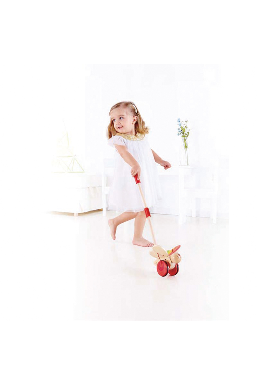 Hape Butterfly Push Toy - Front Full Image