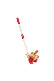 Hape Butterfly Push Toy - Front cropped