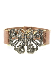 Night Queen Butterfly Rhinestone Bracelet - Product Mini Image
