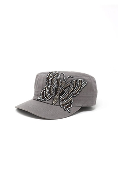 Shoptiques Product: Butterfly Rhinestone Cap