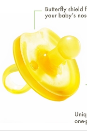 Nutrsutten Butterfly Rounded Pacifier - Front full body