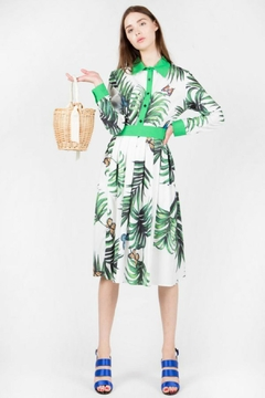 BEULAH STYLE Butterfly Shirt/skirt Set - Product List Image