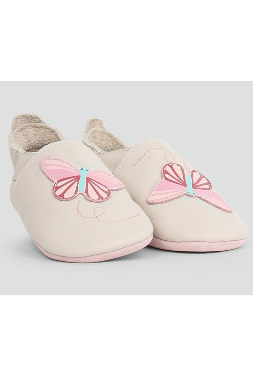 Bobux Butterfly Soft-Sole Slippers - Main Image