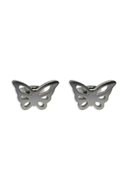 Malia Jewelry Butterfly Studs - Product Mini Image