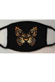The Nu Vintage Butterfly Tiger Face Mask - Product Mini Image