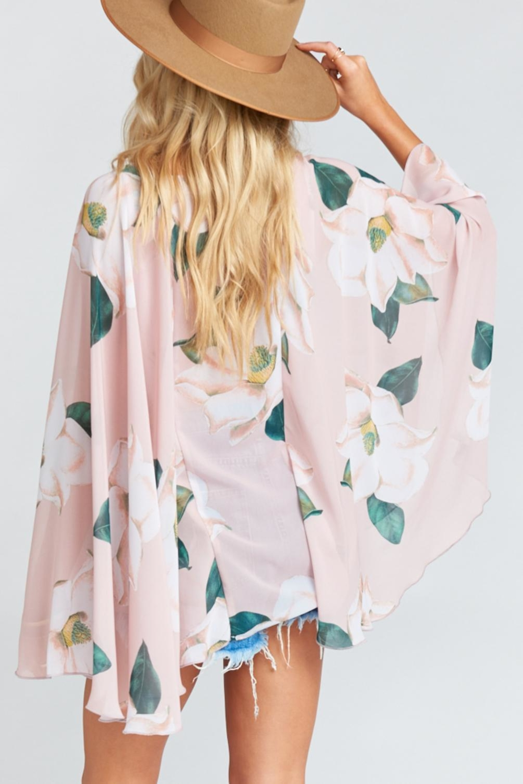 Show Me Your Mumu Butterfly Tunic - Back Cropped Image