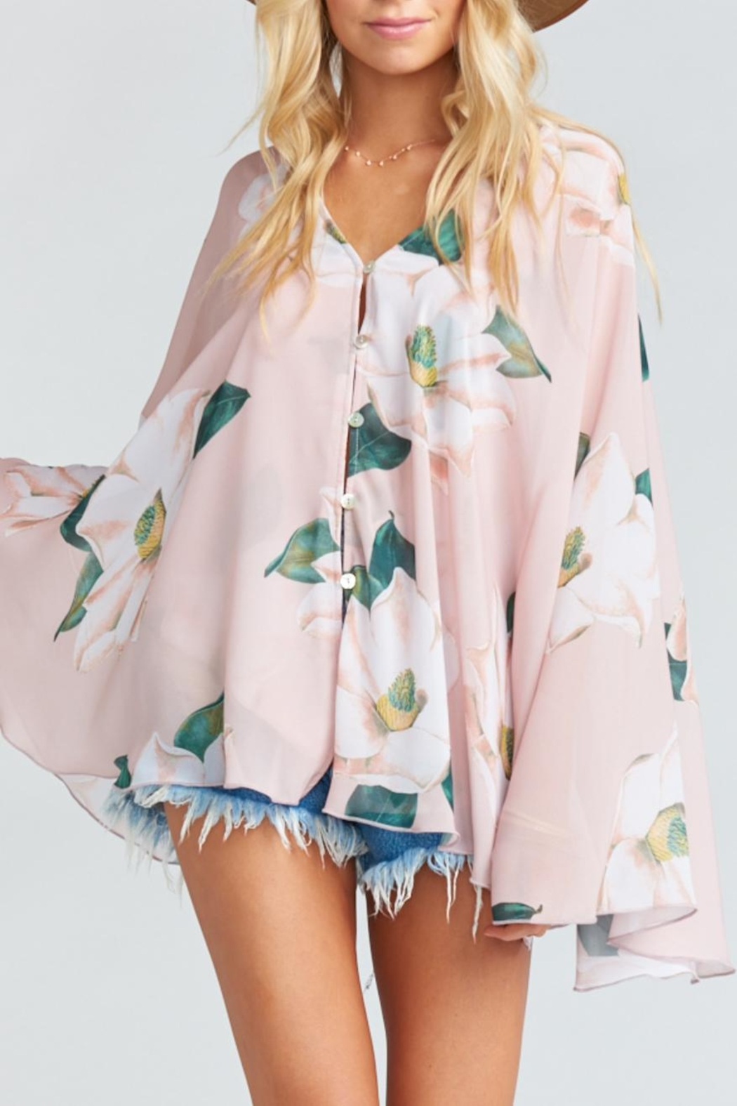 Show Me Your Mumu Butterfly Tunic - Main Image