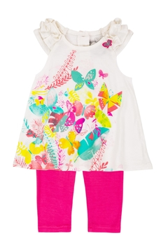Deux Par Deux Butterfly Tunic Set - Product List Image