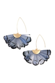 Riah Fashion Butterfly-Wings Threader Earrings - Product Mini Image