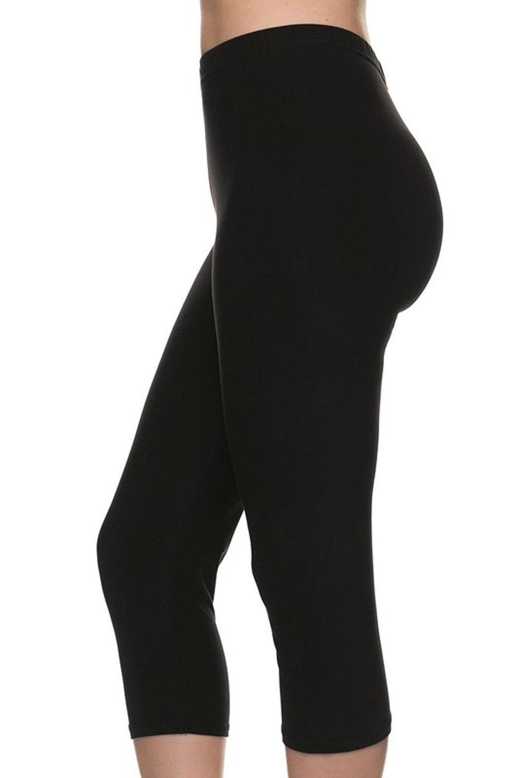 New Mix Buttersoft Capri Legging - Front Full Image