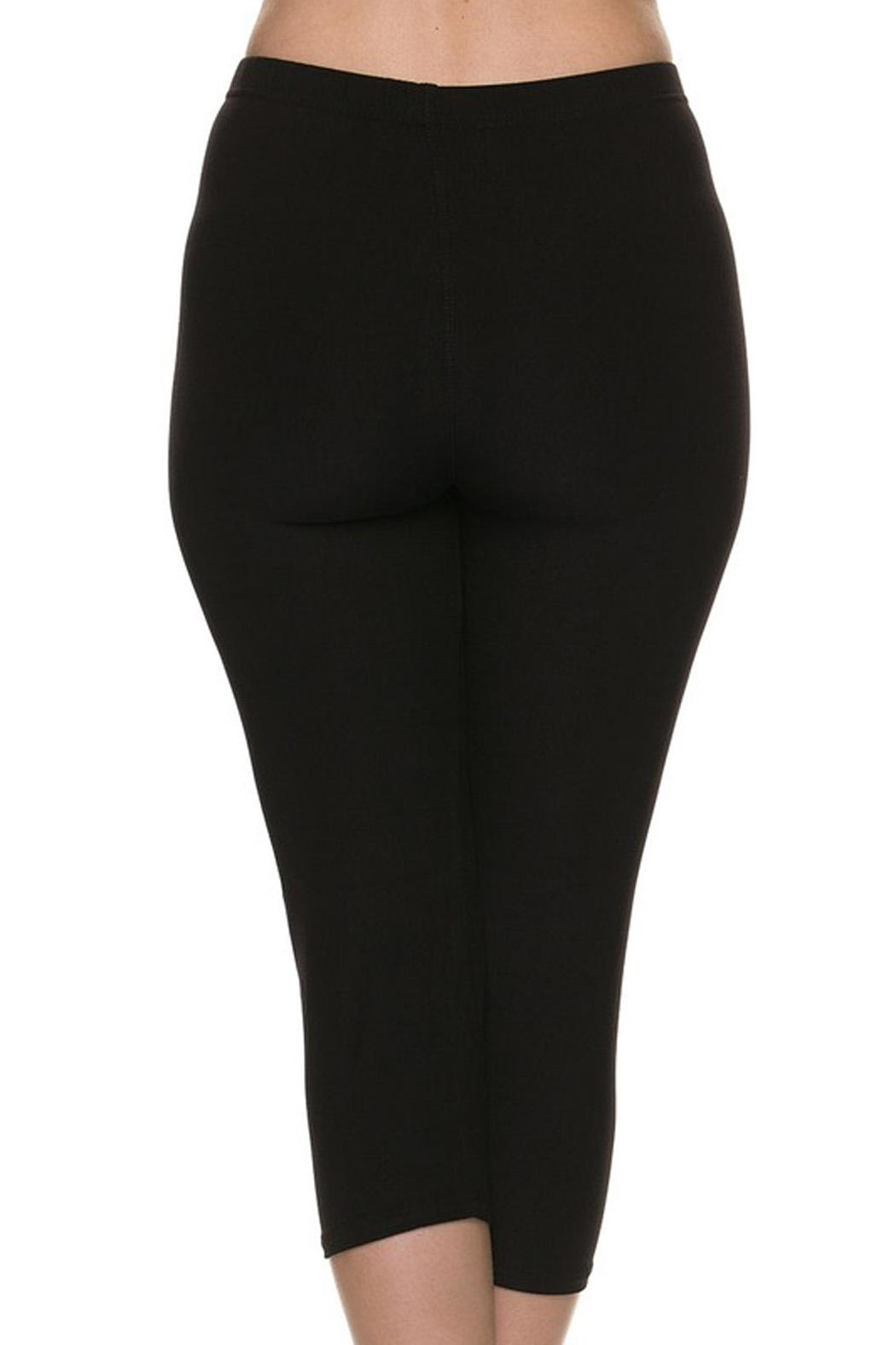 New Mix Buttersoft Capri Legging - Side Cropped Image