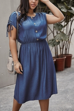 Lyn -Maree's Button Accent Dress - Product List Image