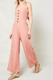 Promesa Button-And-Bow Jumpsuit - Product Mini Image